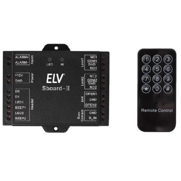 ELV Sboard-II Mini Dual-Relay-Controller mit Wiegand-Schnittstelle