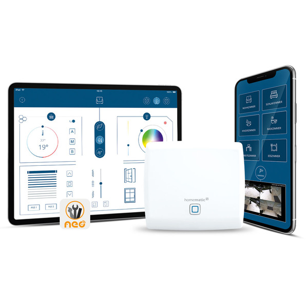 Homematic IP Smart Home Access Point HmIP-HAP inkl. 3 Monate mediola Cloud Services