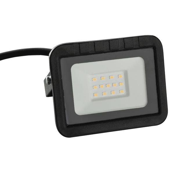 HEITRONIC 10-W-LED-Flutlichtstrahler YORK, 1000 lm, 3000 K, IP65, schwarz