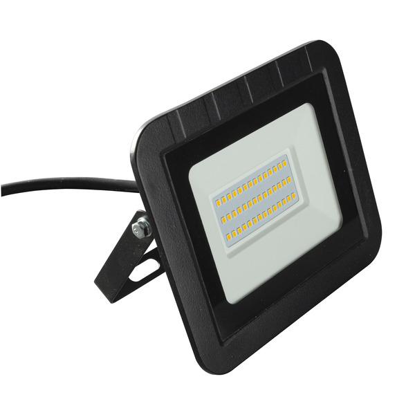 HEITRONIC 30-W-LED-Flutlichtstrahler YORK, 3000 lm, 3000 K, IP65, schwarz
