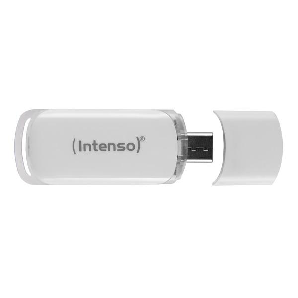 """Intenso USB-Stick """"Flash Line"""", 64 GB, USB-C, USB 3.1"""