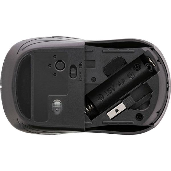 InLine 3-in-1-Maus, Bluetooth, doppelte 2.4 GHz Funkverbindung, optischer Sensor