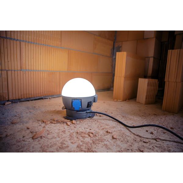 Ansmann 20-W-LED-Arbeitsleuchte Future Ball, 2400 lm, IP54