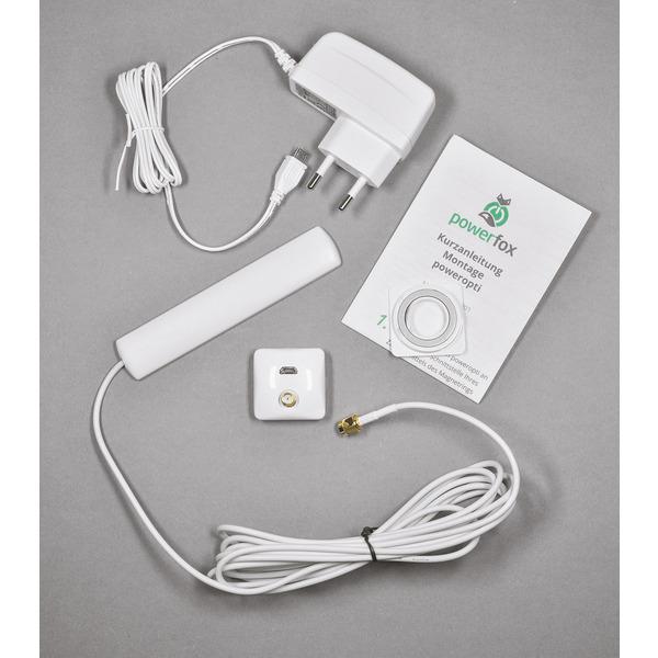 powerfox WLAN-Stromzählerausleser poweropti PA201902 für eBZ-Zähler, inkl. Smartphone-App