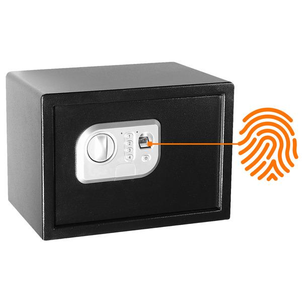 Megasat Fingerprint-Sicherheitstresor ST-25 FP, 16 l Volumen, mit Code-Eingabe und Notschlüssel
