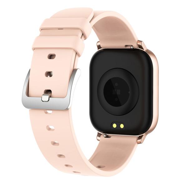 "2er-Spar-Set FontaFit Smartwatch ""TILA"", schwarz/rosé, Blutsauerstoffmessung & Schlafüberwachung"