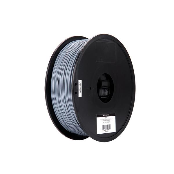Monoprice 3D-Drucker Filament PLA+, grau, 1,75 mm, 1 kg