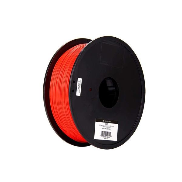 Monoprice 3D-Drucker Filament PLA+, rot, 1,75 mm, 1 kg