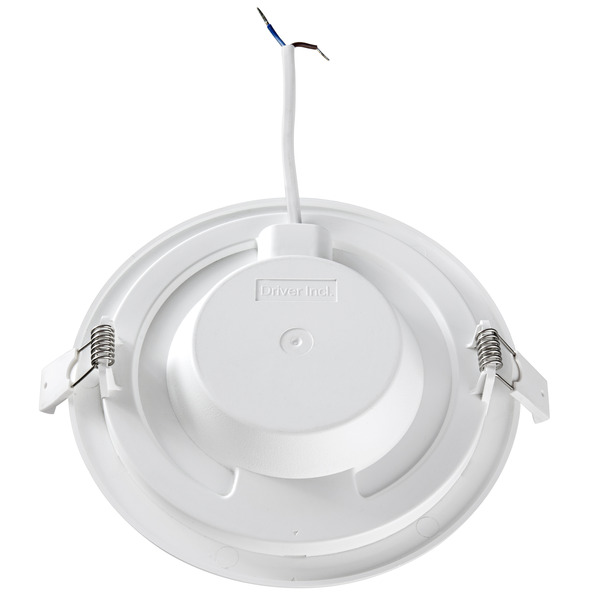 HEITRONIC 18-W-LED-Panel KALLISI, 1300 lm, 32 mm Einbautiefe, rund, warmweiß