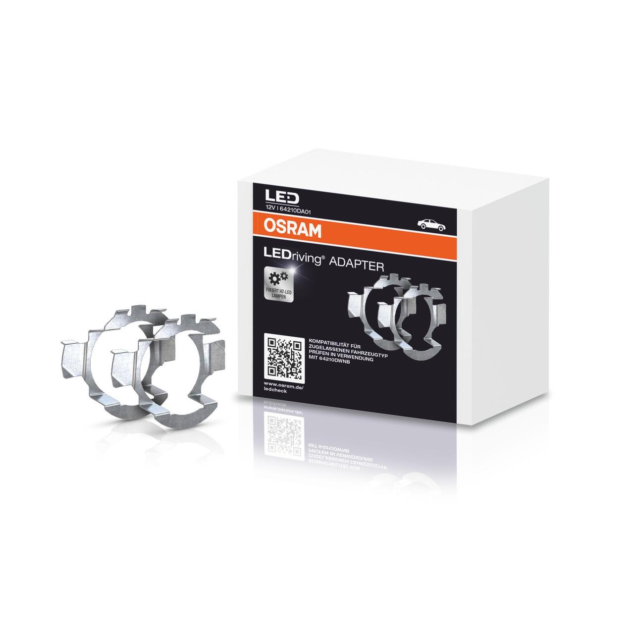 OSRAM LEDriving Adapter für H7-LED-Nachrüstlampe NIGHT BREAKER(R) LED