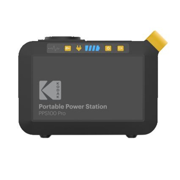 Kodak Portable Power Station PPS100 Pro mit 88,8 Wh, Li-Ion-Akku und AC Steckdose