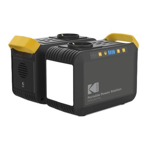 Kodak Power Station PPS100 Pro mit 88,8 Wh Li-Ion-Akku und AC Steckdose
