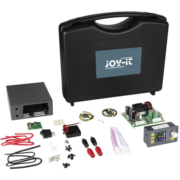 Joy-IT Step-up-Labornetzgerät JT-DPS5015 Set, inkl. Gehäuse und Zubehör, 0 - 50 V/0 - 15 A