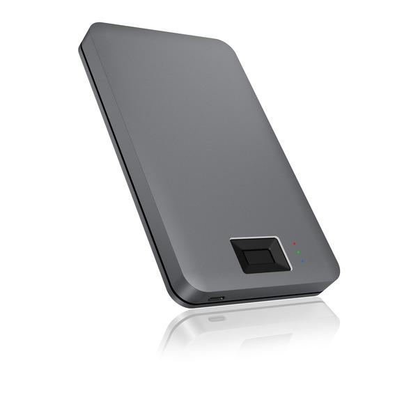 """ICY BOX Fingerabdruck-Gehäuse IB-246FP-C3 für externe 2,5""""-Laufwerke, USB 3.0"""