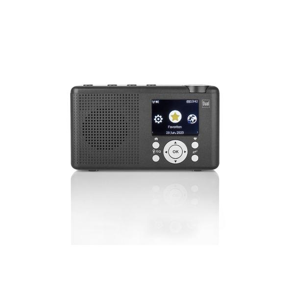 Dual Portables Hybrid-Digitalradio MCR 200, DAB+/UKW/Internetradio, Bluetooth, integrierter Akku