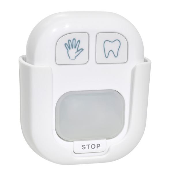 TFA Batteriebetriebener Timer für das Händewaschen und Zähneputzen, mit visueller Anzeige (rot/grün)