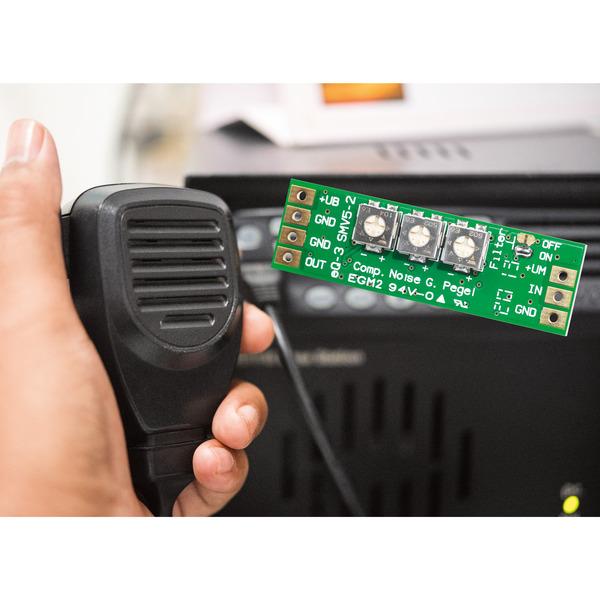 Mikrofonspezialist - Mikrofonverstärker mit Kompressor und Noise Gate SMV5-2
