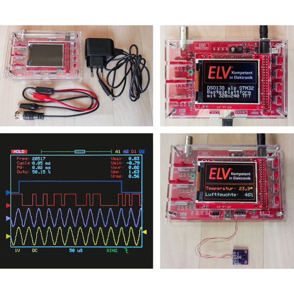 Besser machen - STM32 mit Arduino IDE nutzen und Mini-Oszilloskop DSO138 optimieren, Teil 1