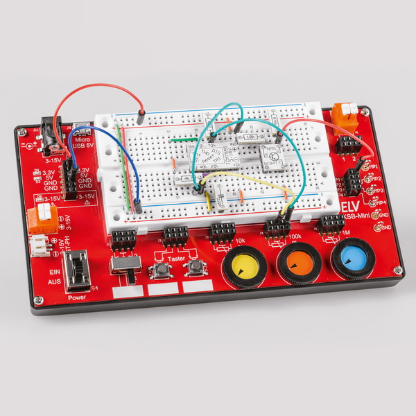 Passt in jede Tasche - Mini-Experimentierboard mit Peripherie EXSB-Mini