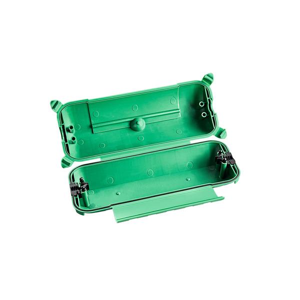 HEITRONIC Sicherheitsbox MAX für Steckerverbindungen, geeignet für Steckernetzteile, IP44
