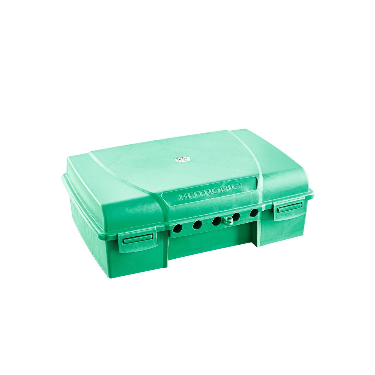 HEITRONIC Sicherheitsbox MAXIMUS für Steckerverbindungen- 5 Kabelausgänge- IP55