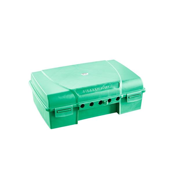 HEITRONIC Sicherheitsbox MAXIMUS für Steckerverbindungen, 5 Kabelausgänge, IP55