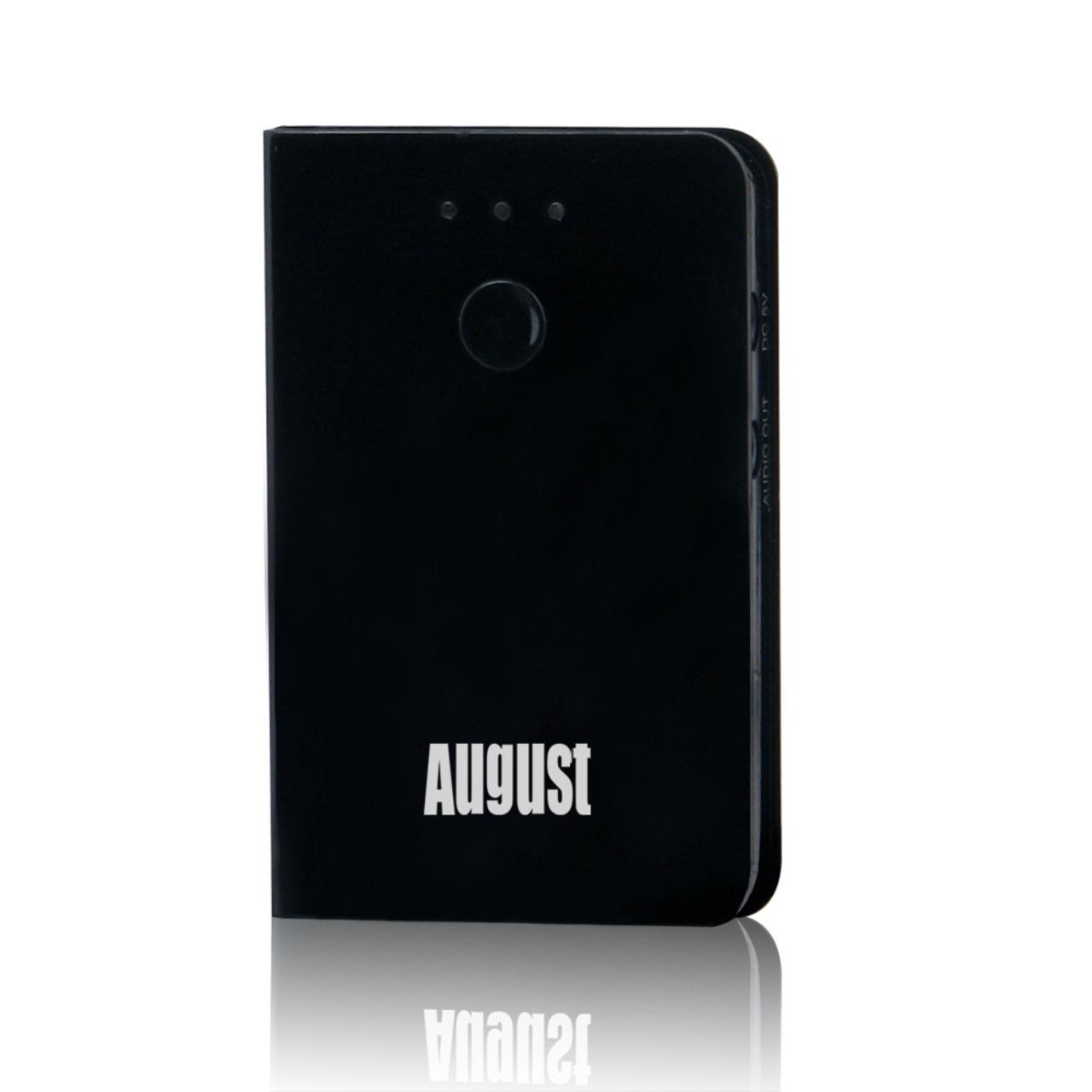Image of August Bluetooth-Audio-Adapter MR230B, Bluetooth-Receiver/-Empfänger, Akkubetrieb möglich