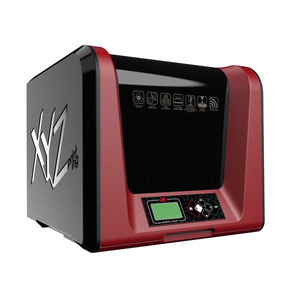 XYZprinting FFF-3D-Drucker da Vinci Jr. Pro X+, WLAN, SD-Karte, USB, mit Lasergravurfunktion