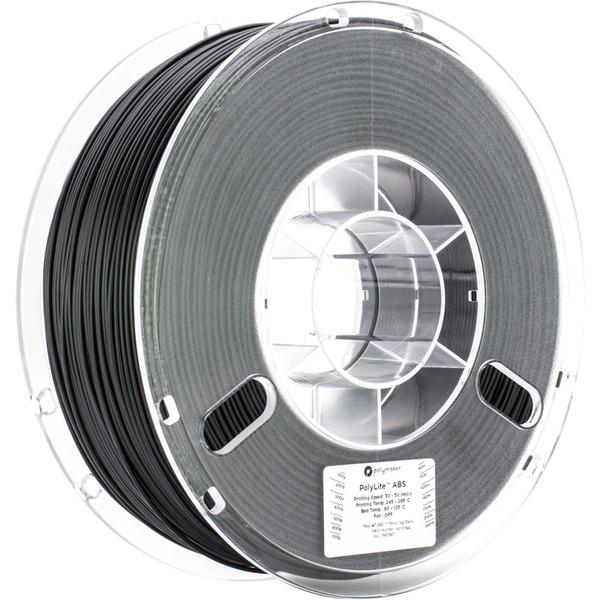 Polymaker Polylite ABS-Filament, schwarz, 1,75 mm, 1 kg