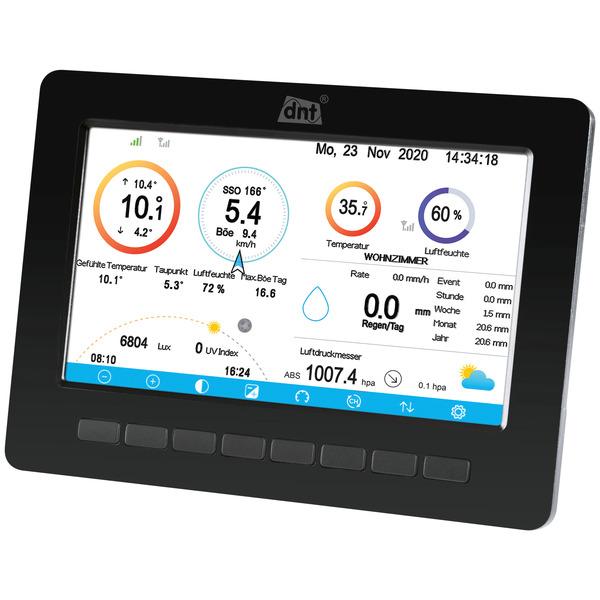 """dnt Zusatz-Display für dnt WeatherScreen PRO, 17,8-cm-TFT-Farbdisplay (7""""), inkl. Netzteil"""