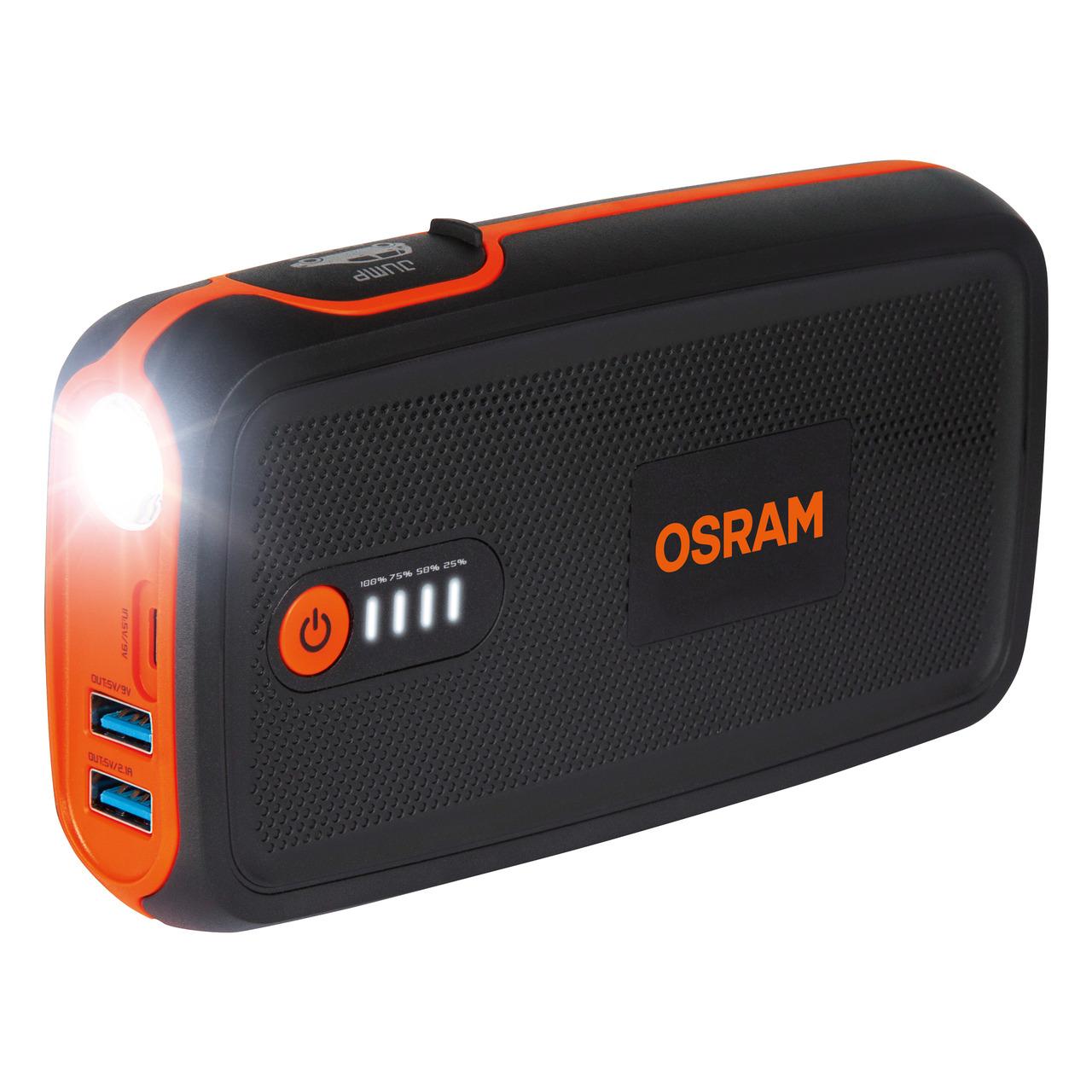 OSRAM Kfz-Starthilfegerät BATTERYstart 300- 12 V- 1500 A- 13-000 mAh