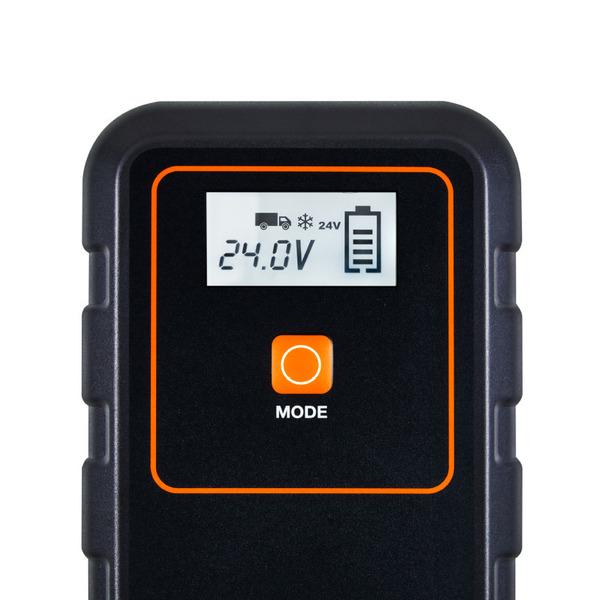 OSRAM Kfz-Batterieladegerät BATTERYcharge 908, 12/24 V, 8 A, für Autos/Klein-LKW