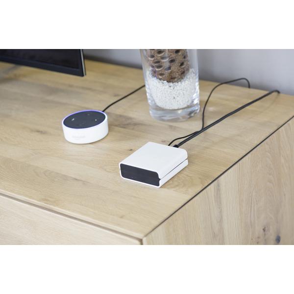 MIYO smartes Bewässerungssystem Starter Kit mit Cube, Bewässerungsventil und Bodenfeuchtesensor