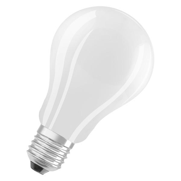 OSRAM 16-W-LED-Lampe A70, E27, 2500 lm, warmweiß, matt