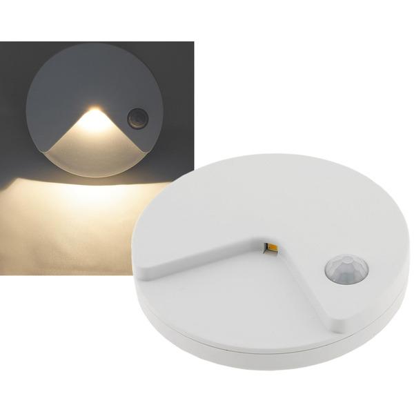 ChiliTec Akku-LED-Treppenlicht / LED-Nachtlicht mit PIR-Bewegungsmelder