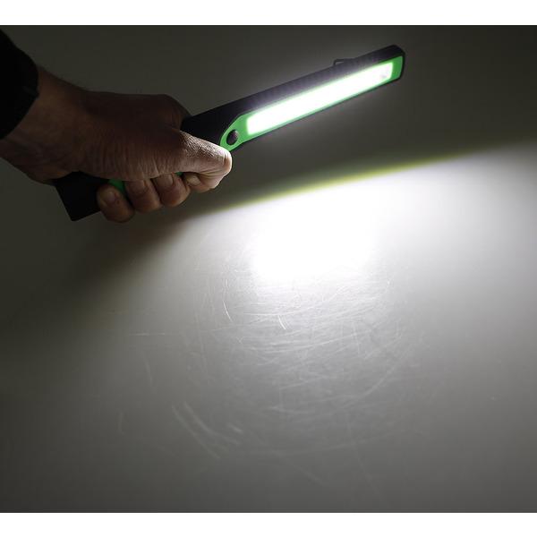 ChiliTec LED-Arbeitsleuchte / LED-Inspektionsleuchte CAL-COB 300, mit Haken / Magnet,Batteriebetrieb