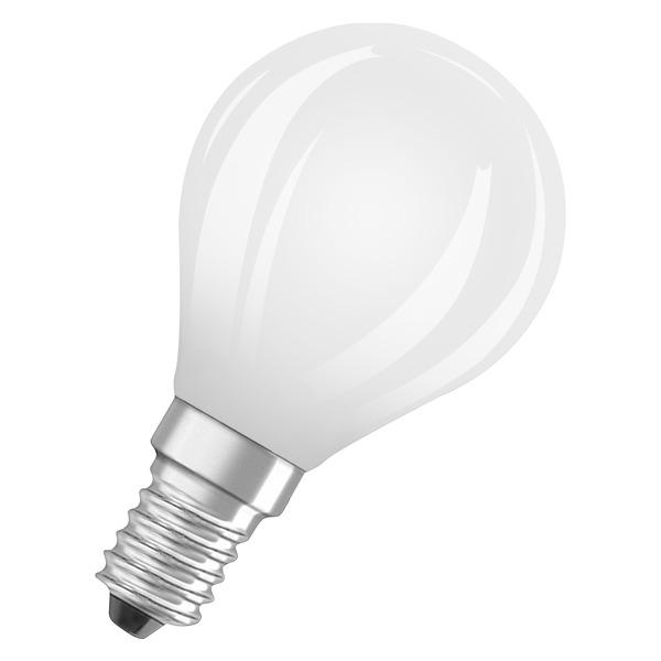 OSRAM 6,5-W-LED-Lampe P45, E14, 806 lm, warmweiß, matt
