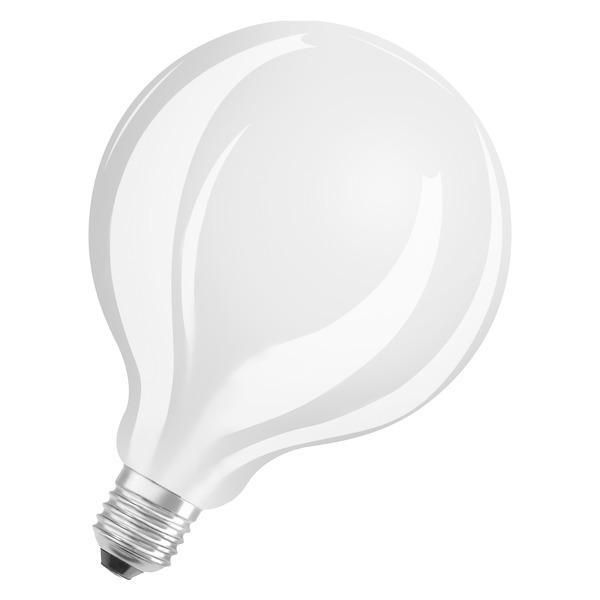 OSRAM 11-W-LED-Lampe G125, E27, 1521 lm, warmweiß, matt