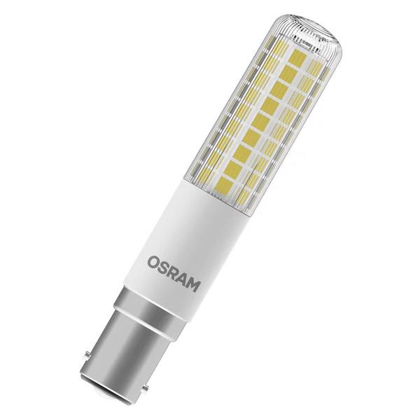 OSRAM 8-W-LED-Lampe T18, B15d, 1055 lm, warmweiß, dimmbar