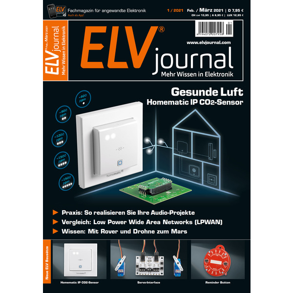 ELVjournal Ausgabe 1/2021 Digital (PDF)