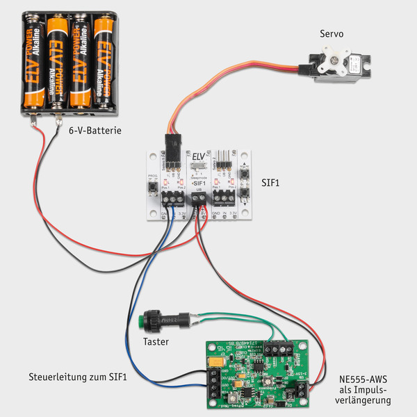 Servo-Ansteuerung leicht gemacht - Servo-Interface SIF1