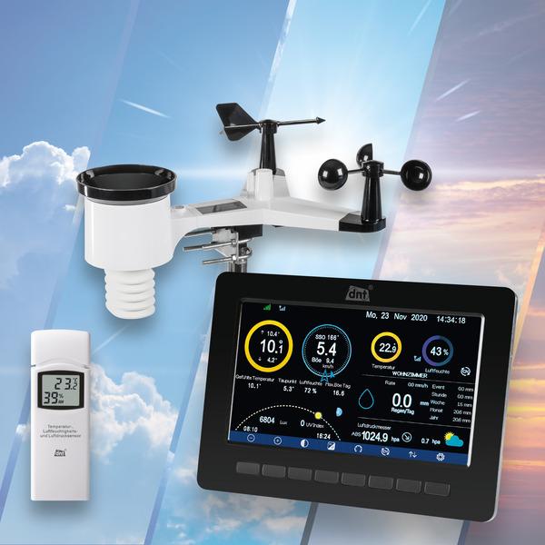 Leser-testen die Wi-Fi-Wetterstation WeatherScreen PRO