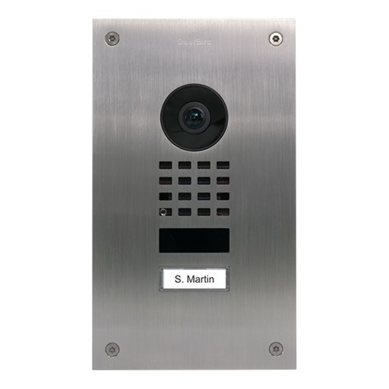 Doorbird WLAN-IP-Türsprechanlage D1101UV- Edelstahl V2A- Unterputz