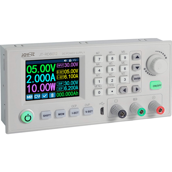 Joy-IT Programmierbares Labornetzteil JT-RD6012 , 0-60 V/0-12 A, max. 720 W