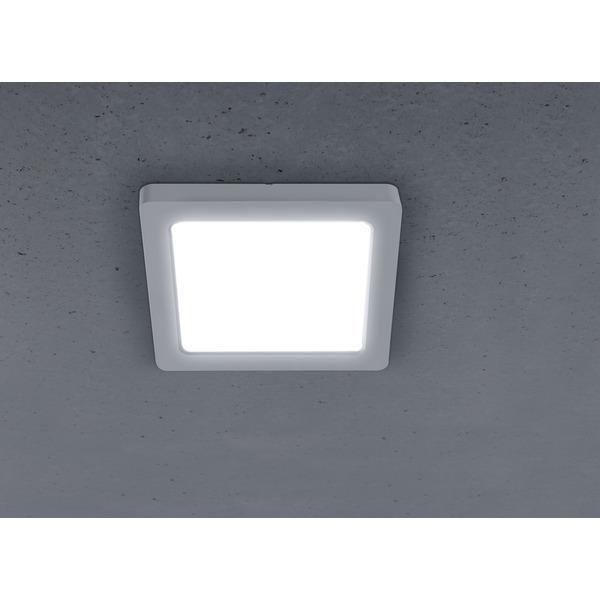 HEITRONIC 12-W-LED-Einbaustrahler SELESTO, eckig, Einbaudurchmesser verstellbar (55-125mm), dimmbar