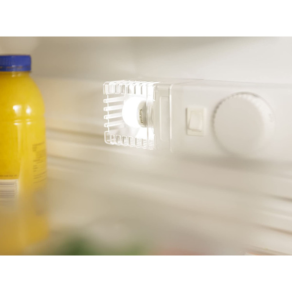 Philips 1,7-W-LED-Kühlschranklampe CorePro, E14, Warmweiß, 59 mm Höhe