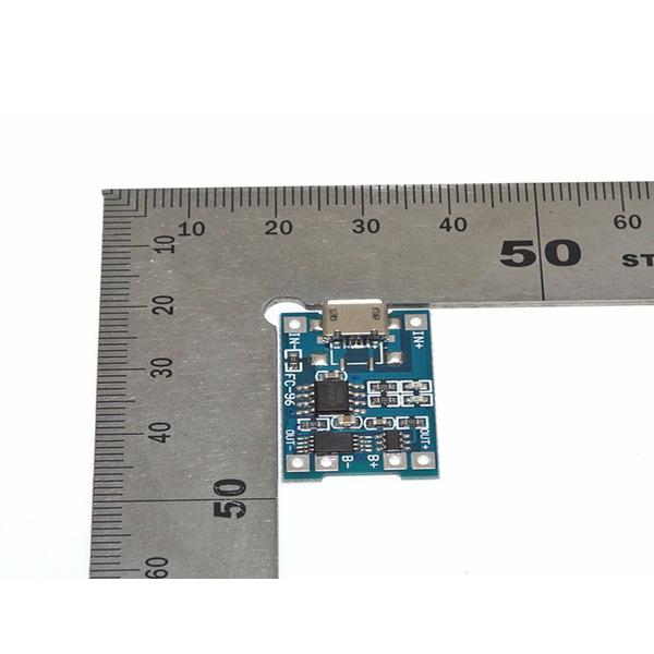 ALLNET LiPo-Lademodul 4duino, 5 V, 1 A, Micro-USB-Charger-Modul mit Schutzschaltung