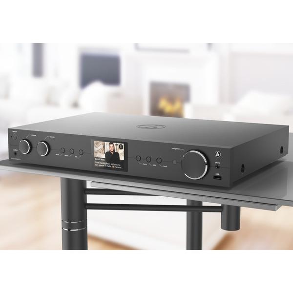 hama Radio-Hi-Fi-Tuner DIT2105SBTX, DAB+/UKW/Internetradio, Bluetooth RX/TX, Spotify, Amazon Music