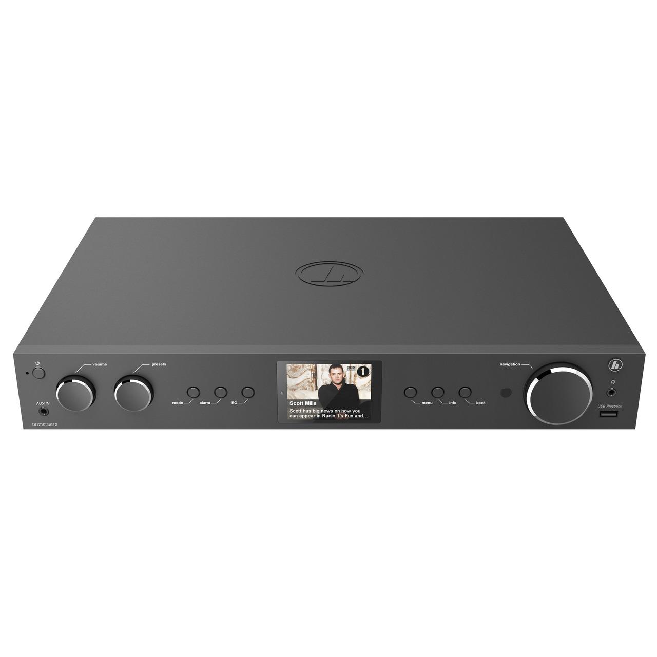 hama Radio-Hi-Fi-Tuner DIT2105SBTX- DAB+-UKW-Internetradio- Bluetooth RX-TX- Spotify- Amazon Music