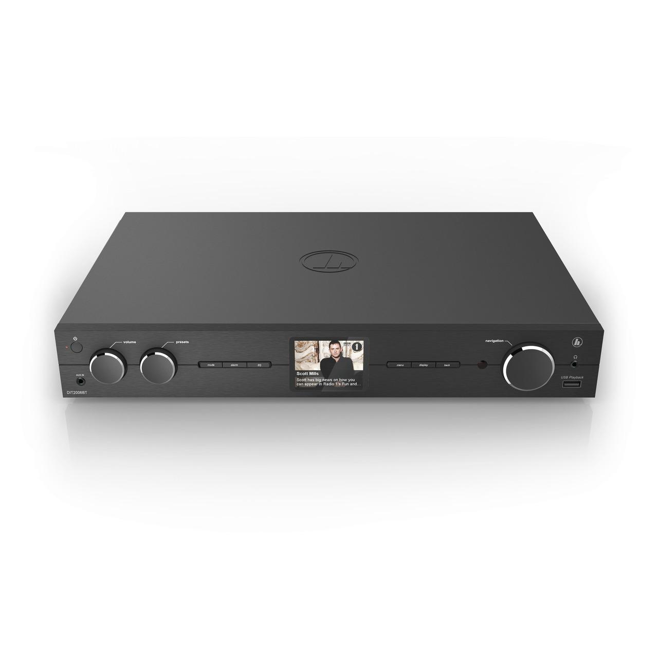 hama Hybrid-Radio-Hi-Fi-Tuner DIT2006BT- DAB+-UKW-Internetradio- Bluetooth RX- Spotify- schwarz